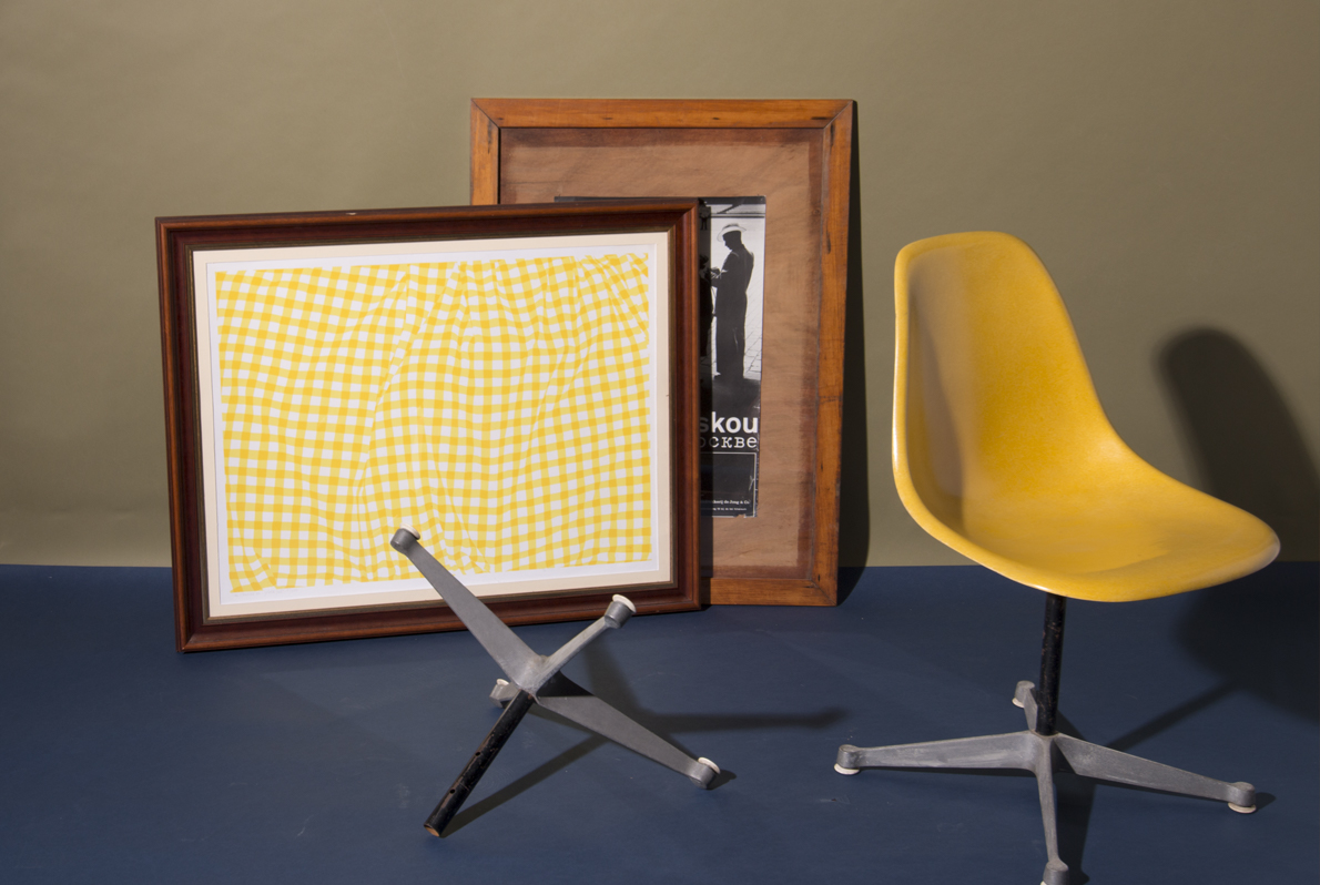 Vitra Charles and Ray Eames geel